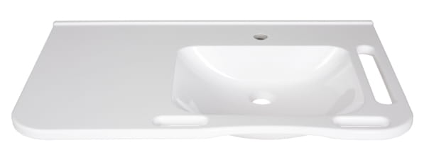 Article number WBM-802-1 R without overflow / with tap hole